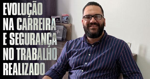 João Pecorari: Evolução na carreira e segurança  no trabalho realizado