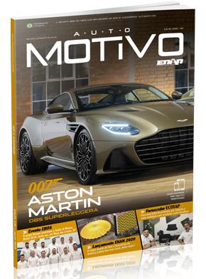 Capa da edição 142, de julho de 2019, da Revista AutoMOTIVO