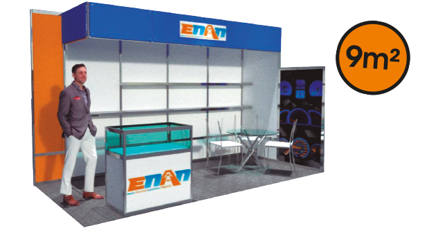 Stand 9m ENAN 2020
