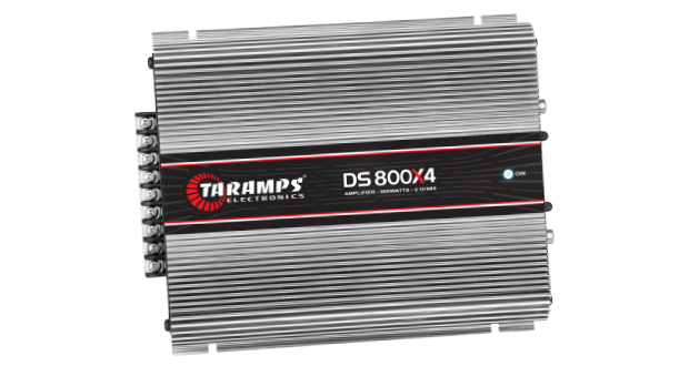 Amplificador DS 800X4 2 Ohms, da Taramps