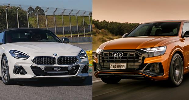 Audi e BMW iniciam vendas de novos modelos no Brasil