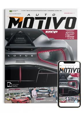 Capa da edição 144, de setembro de 2019, da Revista AutoMOTIVO