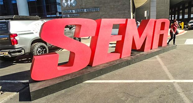 Estivemos no SEMA Show!