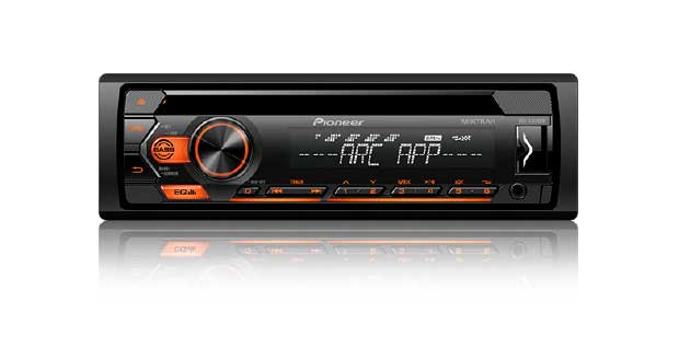 CD Player DEH-S1280UB, da Pioneer