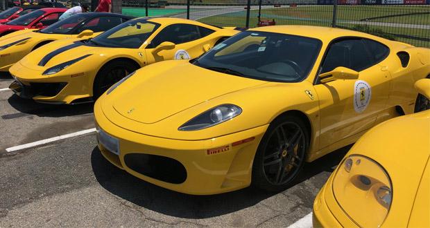 Expositor do ENAN 2020 é premiado com passeio de Ferrari