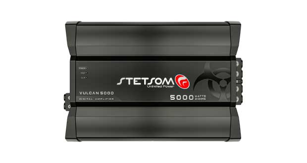 Amplificador Vulcan 5000, da Stetsom