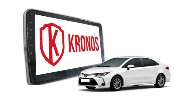 Multimídia para Corolla 2020, da Kronos