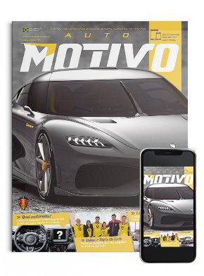 Capa da edição 151, de abril de 2020, da Revista AutoMOTIVO