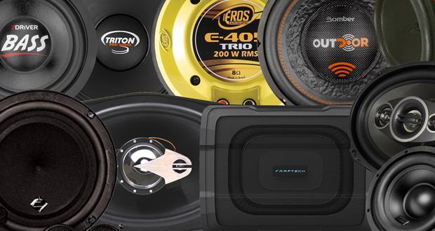 12 marcas de alto-falantes que dão um upgrade no sistema de som do carro!