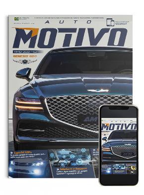 Capa da edição 152, de maio de 2020, da Revista AutoMOTIVO