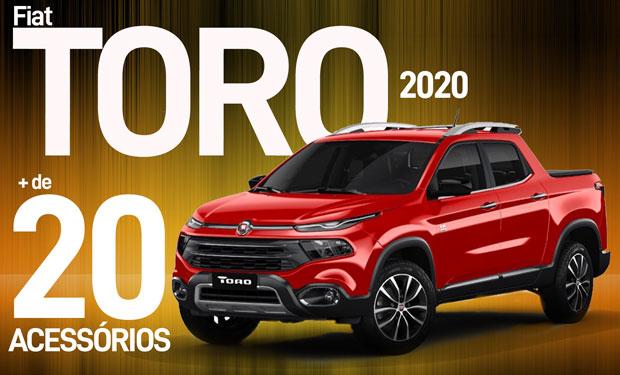 Reunimos mais de 20 acessórios para deixar a Nova Fiat Toro ainda mais completa