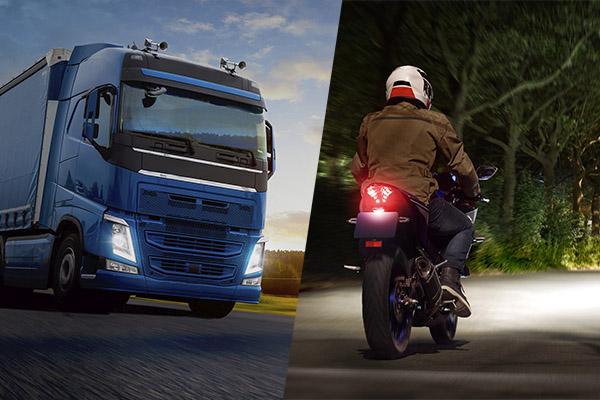 Linha Philips de lâmpadas atende motos, carros, ônibus e caminhões