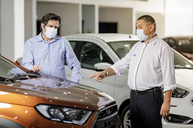 Vendas de carros usados subiram 69% em junho