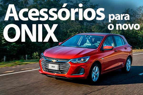 Novo Chevrolet Onix – O mais vendido permite lista extensa de acessórios