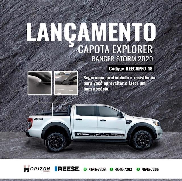Horizon Global lança capota marítima para Ranger Storm