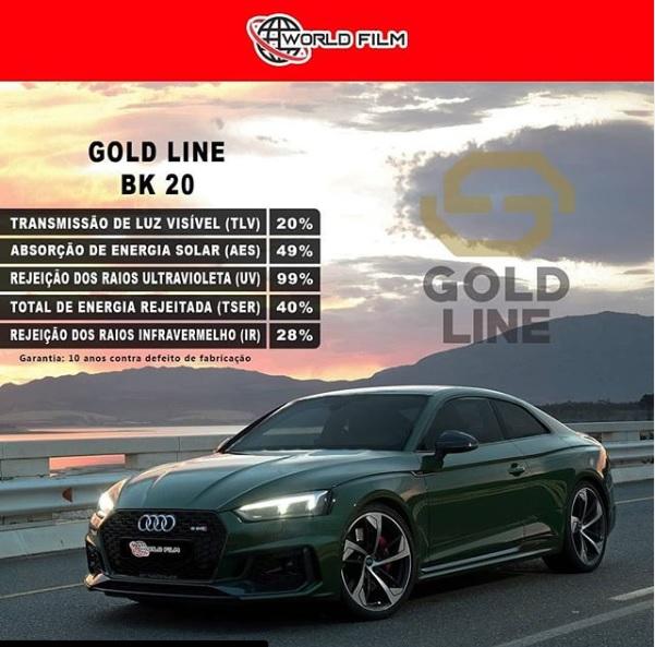 Linha Gold Line BK20 da World Film: conheça