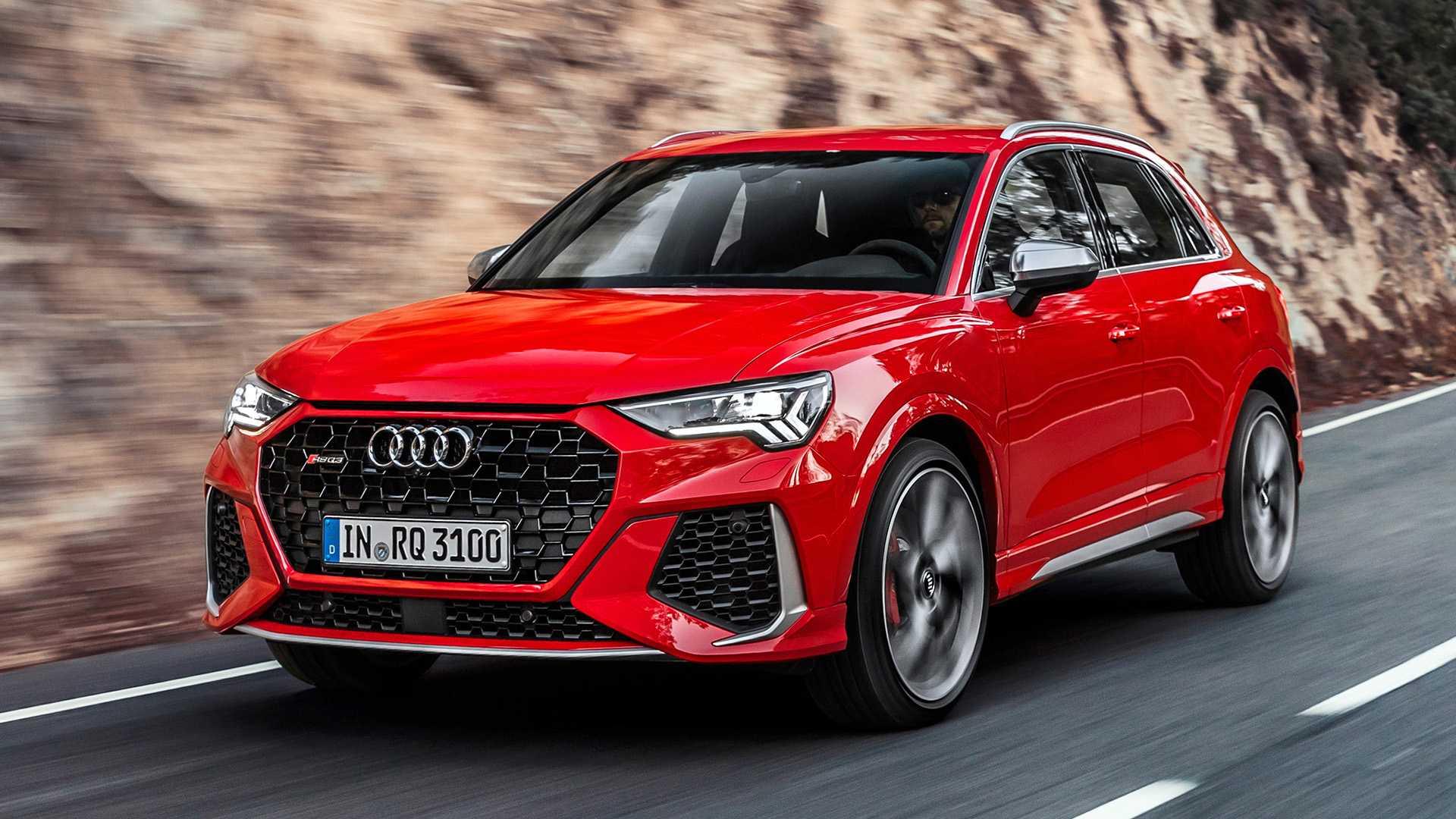 Audi inicia pré-venda de quatro modelos da família RS no Brasil