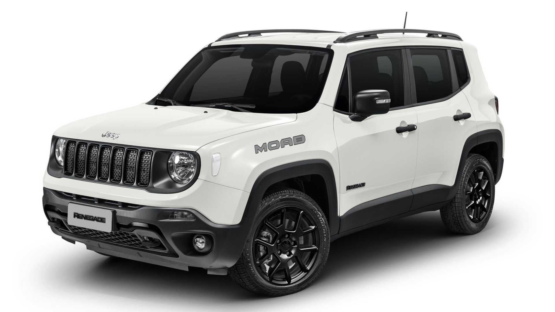 Jeep Renegade e Compass chegam à linha 2021 com poucas mudanças