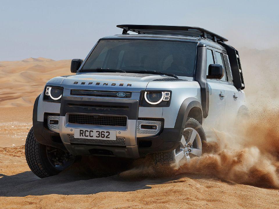 Novo Land Rover Defender chega ao país com 170 opções de acessórios