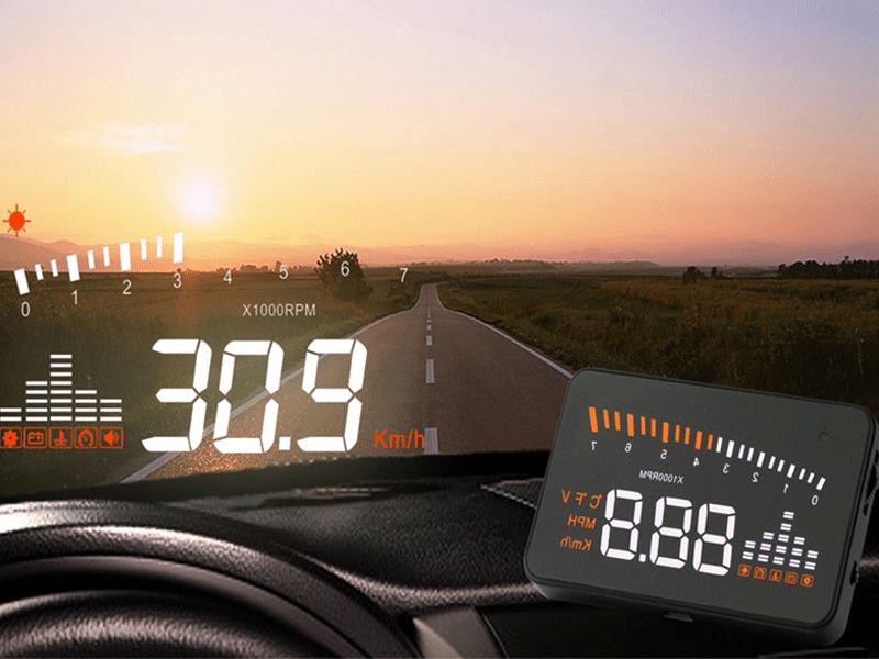 Projetor de velocidade HUD Tech One