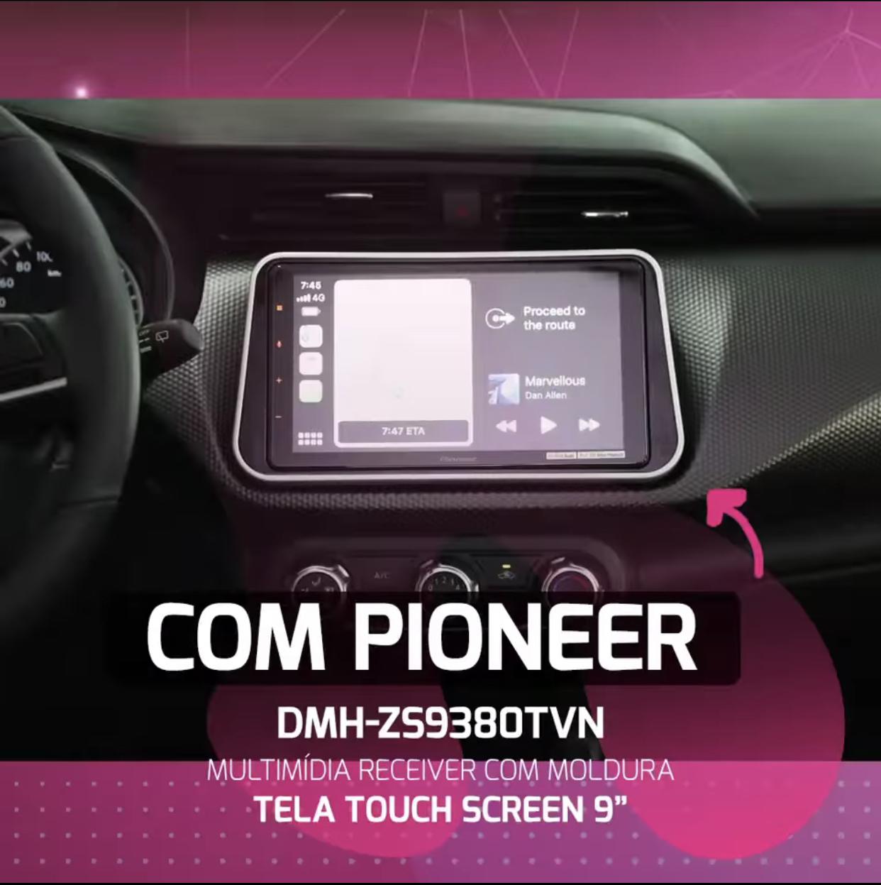 Pioneer lança multimídia para Nissan Kicks
