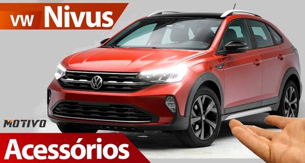 Acessórios para o novo Volkswagen Nivus