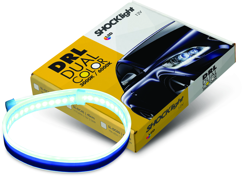 Shocklight lançou Fita DRL Dual Color
