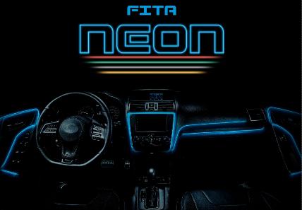 Fita Neon Shocklight: estilo para iluminação interna