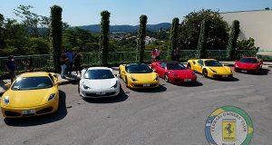 Clube Oficial da Ferrari no Brasil realiza seu primeiro evento no interior de SP