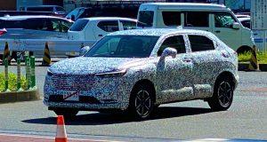 No Japão, nova HR-V é flagrada; SUV chega em 2021