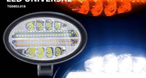Tiger Auto lança Farol de Milha LED Universal com função seta