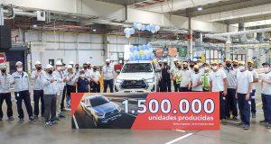 Toyota celebra 1,5 milhão de Hilux e SW4 produzidas na Argentina