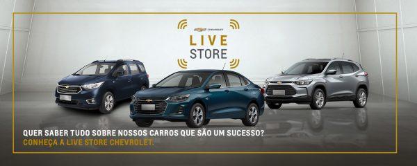 Chevrolet passa a vender carros em lives personalizadas