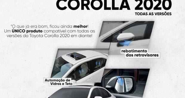 Flexitron lança módulo de conforto para Corolla 2020