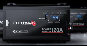 Stetsom lança Fonte Automotiva 120A