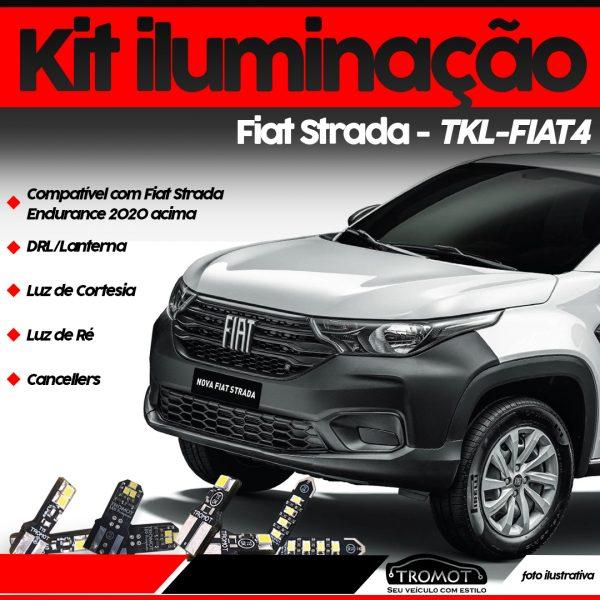 Tromot lança kit de iluminação para Strada 2020