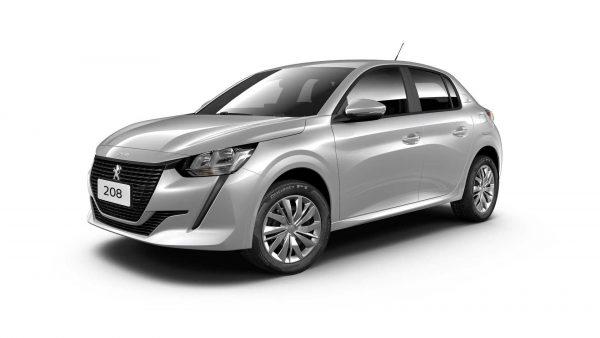 Peugeot aumentou os valores do 208; versão de entrada é vendida por R$ 67.690