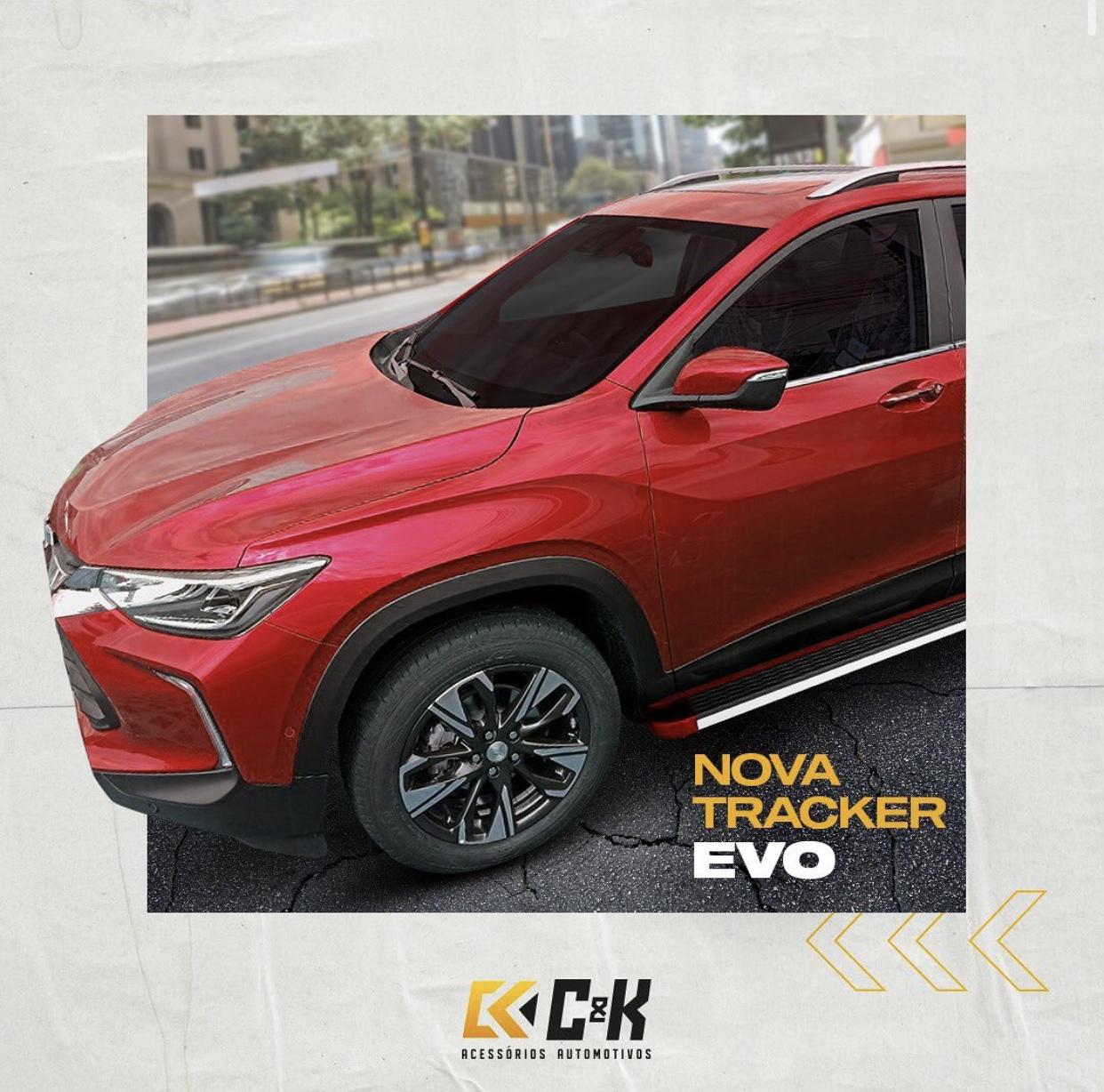 C&K lança estribos para a nova Chevrolet Tracker