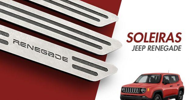 GPI lança a Linha de soleiras para Jeep Renegade
