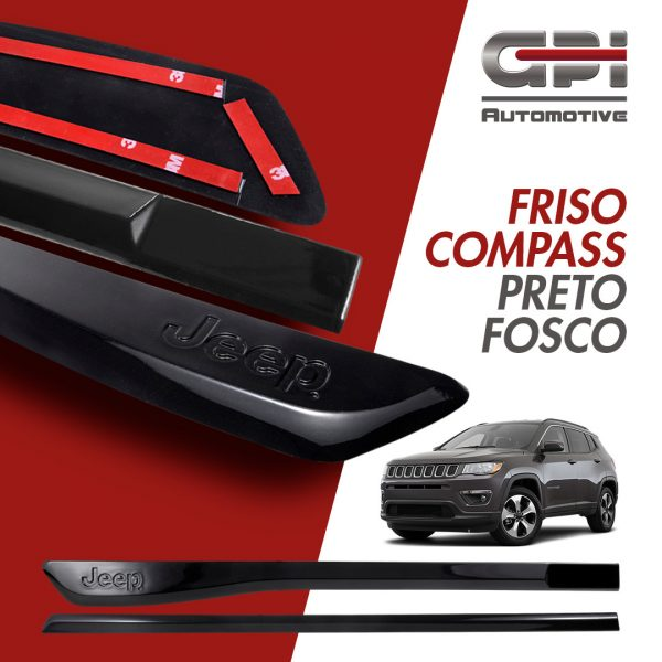 GPI Automotive destaca Frisos para o Jeep Compass