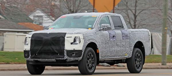 Nova Ford Ranger é flagrada na Argentina