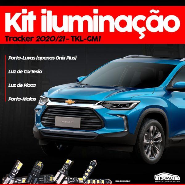 Tromot destaca Kit de Iluminação para Chevrolet Tracker 2020/2021